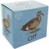 Duck Off Mug - White/Brown: Image 2