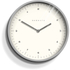 Newgate Mr. Turner Wall Clock - Overcoat Grey: Image 1