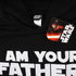 Star Wars Mens Father Sabre Hoody - Zwart: Image 3