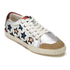Ash Women's Majestic Star Print Low Top Trainers - Seta/Silver/Red: Image 2