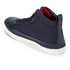 Polo Ralph Lauren Men's Clarke Canvas Hi-Top Trainers - Newport Navy: Image 4