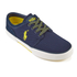 Polo Ralph Lauren Men's Faxon Low Top Trainers - Navy: Image 2