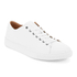 Polo Ralph Lauren Men's Jermain Leather Trainers - White: Image 2