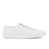 Polo Ralph Lauren Men's Jermain Leather Cupsole Trainers - White: Image 1