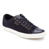 Polo Ralph Lauren Men's Geffrey Suede/Leather Trainers - Navy/Newport Navy: Image 2