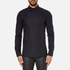 HUGO Men's Elisha Long Sleeve Dobby Shirt - Navy: Image 1