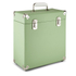 GPO Retro Portable Carry Case for LP Records and 12-Inch Vinyl - Green: Image 1