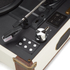 GPO Retro Ambassador Brief Case Turntable - Cream/Tan: Image 4