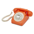 GPO Retro 746 Rotary Dial Telephone - Orange: Image 1