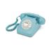 GPO Retro 746 Rotary Dial Telephone - Blue: Image 1