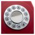 GPO Retro 746 Push Button Telephone - Red: Image 2
