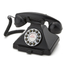 GPO Retro 1929S Classic Carrington Push Button Telephone - Black: Image 1