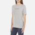Cheap Monday Women's Break T-Shirt with Placed Text - Grey Melange: Image 2