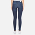 Cheap Monday Women's Mid Spray Fall Jeans - Blue: Image 3