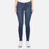 Cheap Monday Women's Mid Spray Fall Jeans - Blue: Image 1