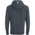 Crosshatch Men's Quon Kangeroo Pocket Hoody - Total Eclipse: Image 2