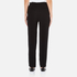 Theory Women's Tralpin Admiral Crepe Light Trousers - Black: Image 3