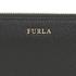Furla Women's Babylon XL Zip Around Purse - Black: Image 3