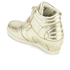 Ash Kids' Babe Metal Rock Wedged Hi Top Trainers - Platine: Image 4