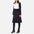 Diane von Furstenberg Women's Kayden Coat - Midnight/Canvas: Image 2