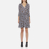 Diane von Furstenberg Women's Irina Dress - Ribbon Rectangles Khaki: Image 1