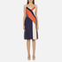 Diane von Furstenberg Women's Frederica Dress - Rickrack Khaki: Image 1