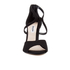 Dune Women's Melody Suede Heeled Sandals - Black: Image 4