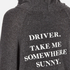 Wildfox Women's Take Me Somewhere Hideout Hoody - Clean Black/White Graphic: Image 5