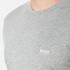 BOSS Green Men's Small Logo T-Shirt - Grey: Image 5