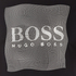 BOSS Green Men's Tee 8 Raised Print T-Shirt - Black: Image 5