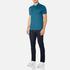 BOSS Green Men's C-Firenze Small Logo Polo Shirt - Blue: Image 4