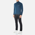 BOSS Green Men's Zime Quarter Zip Jumper - Blue: Image 4