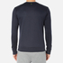 BOSS Green Men's Salbo Logo Sweatshirt - Blue: Image 3