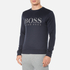 BOSS Green Men's Salbo Logo Sweatshirt - Blue: Image 2