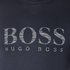 BOSS Green Men's Salbo Logo Sweatshirt - Blue: Image 5