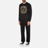 Versace Jeans Men's Light Sweatshirt - Black: Image 4