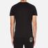 Versace Jeans Men's Foil Print T-Shirt - Black: Image 3