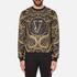 Versace Jeans Men's All Over Print Sweatshirt - Black: Image 1