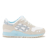 Asics Lifestyle Women's Gel-Lyte III Crystal Blue Pack Trainers - White/Light Grey: Image 1