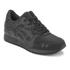 Asics Lifestyle Gel-Lyte III Leather Trainers - Black: Image 2