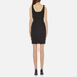 Versus Versace Women's Jersey Sleeveless Dress - Black: Image 3