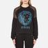Versus Versace Women's Versus Lion Sweatshirt - Black/Blue: Image 1