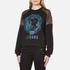 Versus Versace Women's Versus Lion Sweatshirt - Black/Blue: Image 2