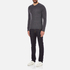 rag & bone Men's Giles Henley Top - Charcoal: Image 4