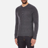 rag & bone Men's Giles Henley Top - Charcoal: Image 2