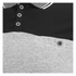 Brave Soul Men's Steranko Panel Tipped Polo Shirt - Black: Image 3