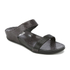 FitFlop Women's Banda Crystal Imi-Snake Slide Sandals - Black: Image 2