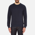 J.Lindeberg Men's Chad Pattern Sweatshirt - Blue: Image 1