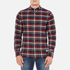 Penfield Men's Barrhead Check Shirt - Red: Image 1