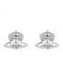 Vivienne Westwood Jewellery Women's Lorelei Stud Earrings - Rhodium: Image 1